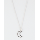 FULL TILT Moon Cutout Necklace