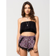 ANGIE Crochet Flounce Womens Tube Top