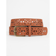 Pretty Perforated Belt