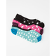 VANS Night Lights Canoodles 3 Pack Womens Socks