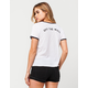 VANS Flag Down Womens Ringer Tee