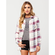 FULL TILT Boyfriend Womens Plaid Shirt
