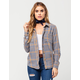 FULL TILT Classic Plaid Womens Flannel Shirt