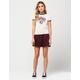 SOCIALITE Herringbone Skirt