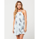 MIMI CHICA Floral Swing Dress