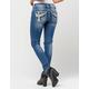 MISS ME Cross Womens Skinny Jeans