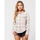 VOLCOM Desert Coast Womens Flannel Shirt