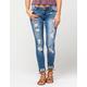 VANILLA STAR PREMIUM Destructed Womens Skinny Jeans