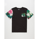 ASPHALT YACHT CLUB Photo Floral Boys Pocket Tee