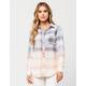 FULL TILT Beach Fade Womens Flannel Shirt