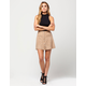 FULL TILT Pocket Suede Skater Skirt