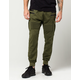 UNCLE RALPH Zip Moto Mens Cargo Jogger Pants