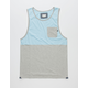 MATIX Crossblocks Mens Pocket Tank