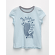 BILLABONG Mermaid Tail Little Girls Tee
