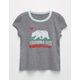 BILLABONG Cali Bear Little Girls Tee
