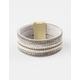 FULL TILT Rhinestone Magnetic Wrap Bracelet
