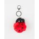Ladybug Pom Keychain Bag Charm