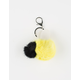 Bumble Bee Pom Keychain Bag Charm