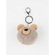 Bear Pom Keychain Bag Charm