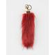 Rabbit Foot Keychain Bag Charm