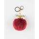 Fox Pom Keychain Bag Charm
