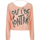 FULL TILT Out Of Control Womens Crop Top