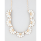 FULL TILT Flower Statement Necklace
