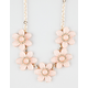 FULL TILT Flower Rhinestone Necklace