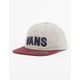 VANS Unstructured Boys Snapback Hat