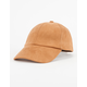 Microsuede Womens Baseball Hat