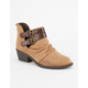 SODA Slouch Womens Booties