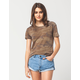 FULL TILT Washed Camo Womens Tee