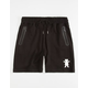 GRIZZLY Elastic Waist Mens Shorts