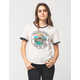 VOLCOM Lake Daze Womens Ringer Tee