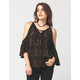 SEA GYPSIES Cold Shoulder Womens Top