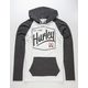 HURLEY Tall Boy Mens Lightweight Hoodie
