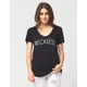 YOUNG & RECKLESS Fine Line Womens Tee
