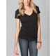 FULL TILT Essential Deep V Womens Tee