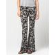 FULL TILT Vintage Floral Womens Flare Pants