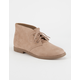 SODA Play Womens Chukka Booties