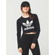 ADIDAS Trefoil Cropped Womens Tee