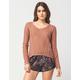 FULL TILT Multi Stitch Womens Sweater