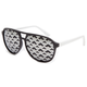 BLUE CROWN Mustache Aviator Sunglasses