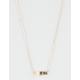 FULL TILT Dainty Arrow Stone Necklace