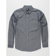 RSQ Collective Max Chambray Mens Shirt