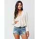 BILLABONG Seaside Solid Womens Sweater