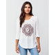BILLABONG Midnight Medallion Womens Raglan Tee