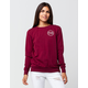 YOUNG & RECKLESS RCKLSS Circle Womens Sweatshirt