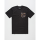 BOHNAM Species Mens Pocket Tee
