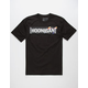 HOONIGAN Pantone Censor Bar Mens T-Shirt